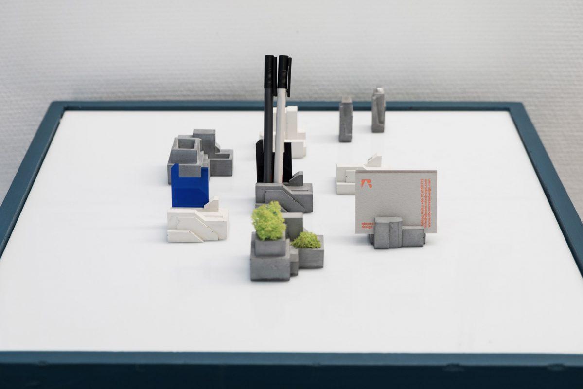 concrete design partner gift collection on the exhibition of Moholy-Nagy László Design Grant