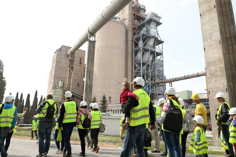 Open day at Duna-Dráva Cement factory