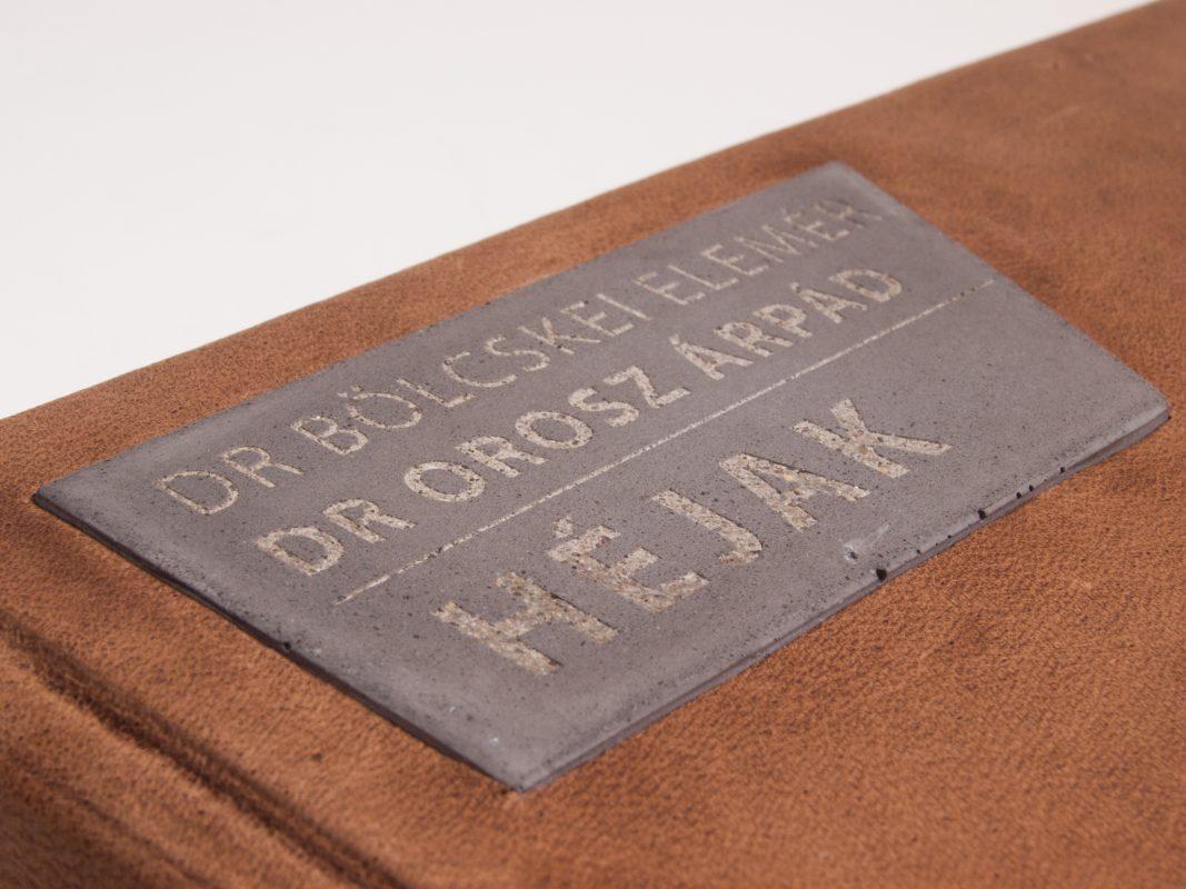 Concrete designer custom made gift for university professors