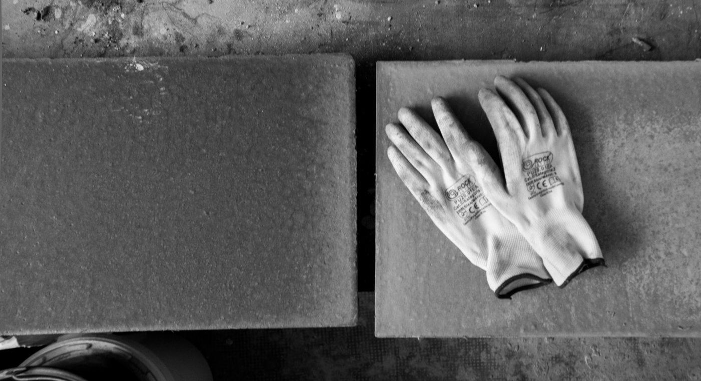Concrete design studio stillife