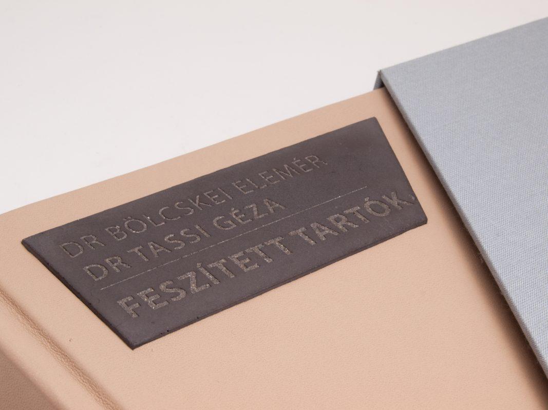 custom made designer gift idea for concrete studies university professors
