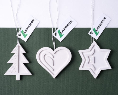 Christmas buciness gift collection for Lafarge's business partners