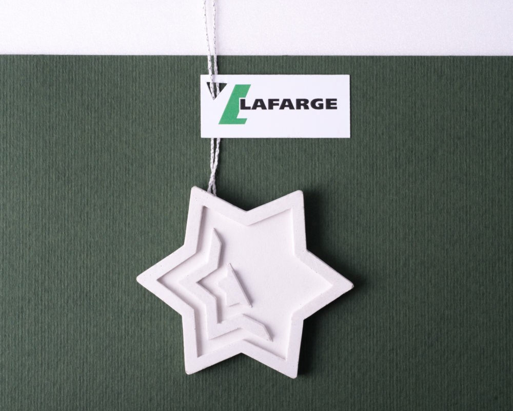 Christmas corporate gift for Lafarge Cement's business clients