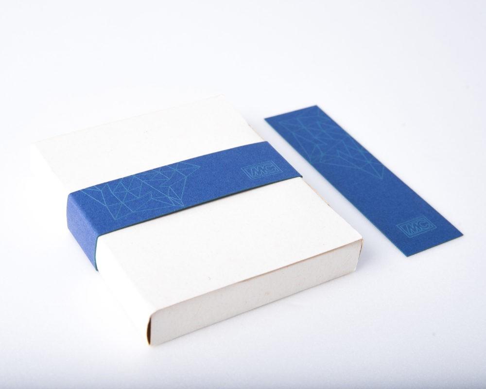MC-Bauchemie egyedi tervezésű üzleti ajándékának csomagolása