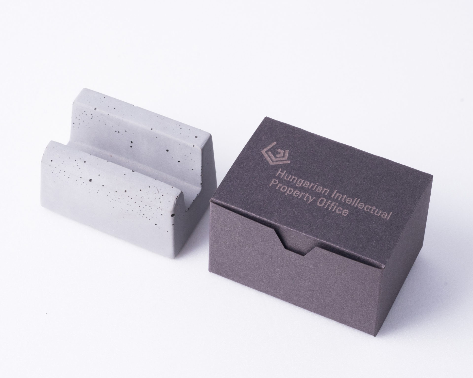Business gift with branded packaging