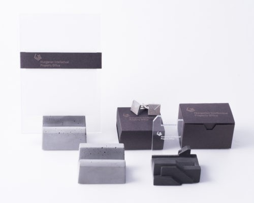 Designer business gifts b2b from concrete