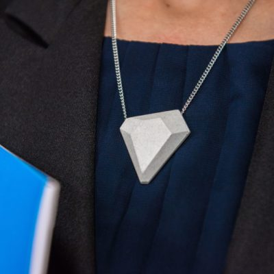 Designer necklace for business outfit