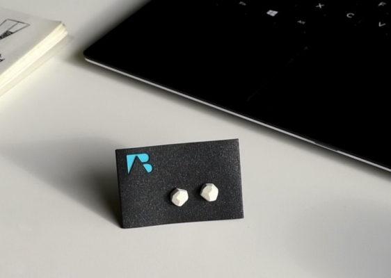 Polygon shaped earrings