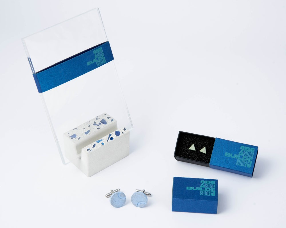 Customized designer corporate gift collection with unique packaging