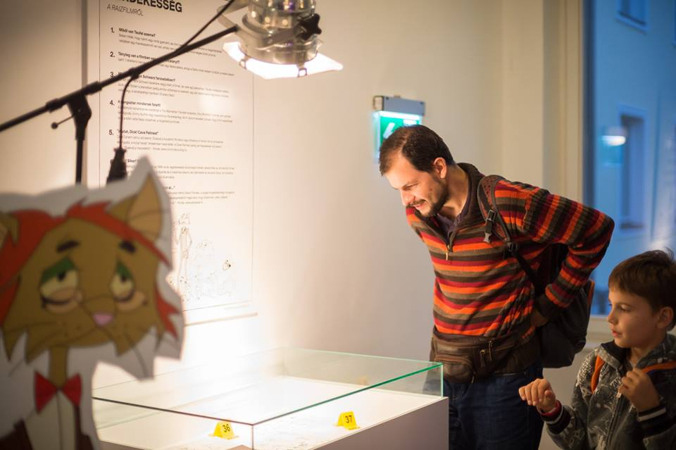 Catycity animation movie relic exhibition Pannonia filmstudio