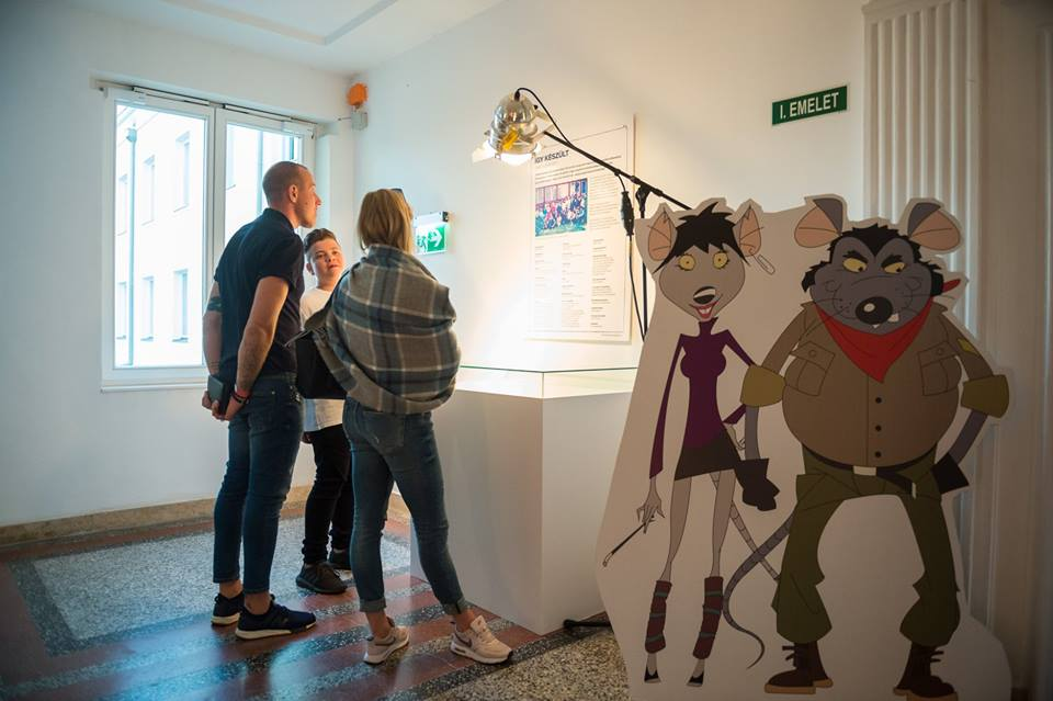 Catcity cartoon relic exhibition Pannonia filmstudio
