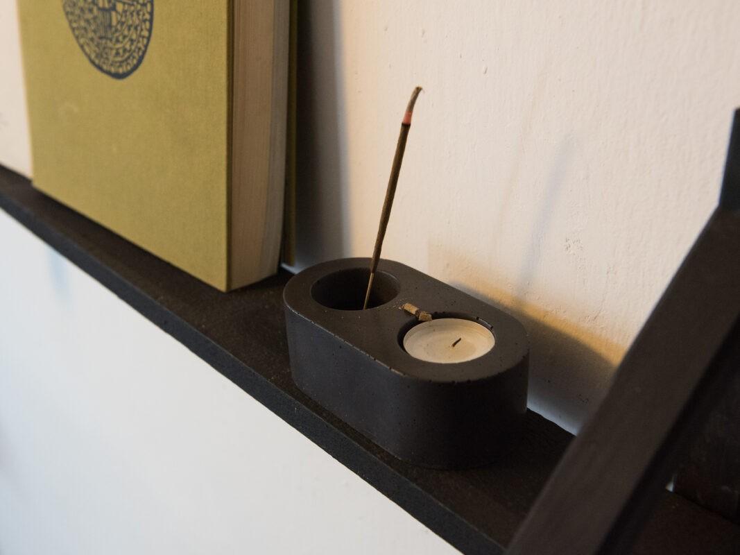 incense tealight holder