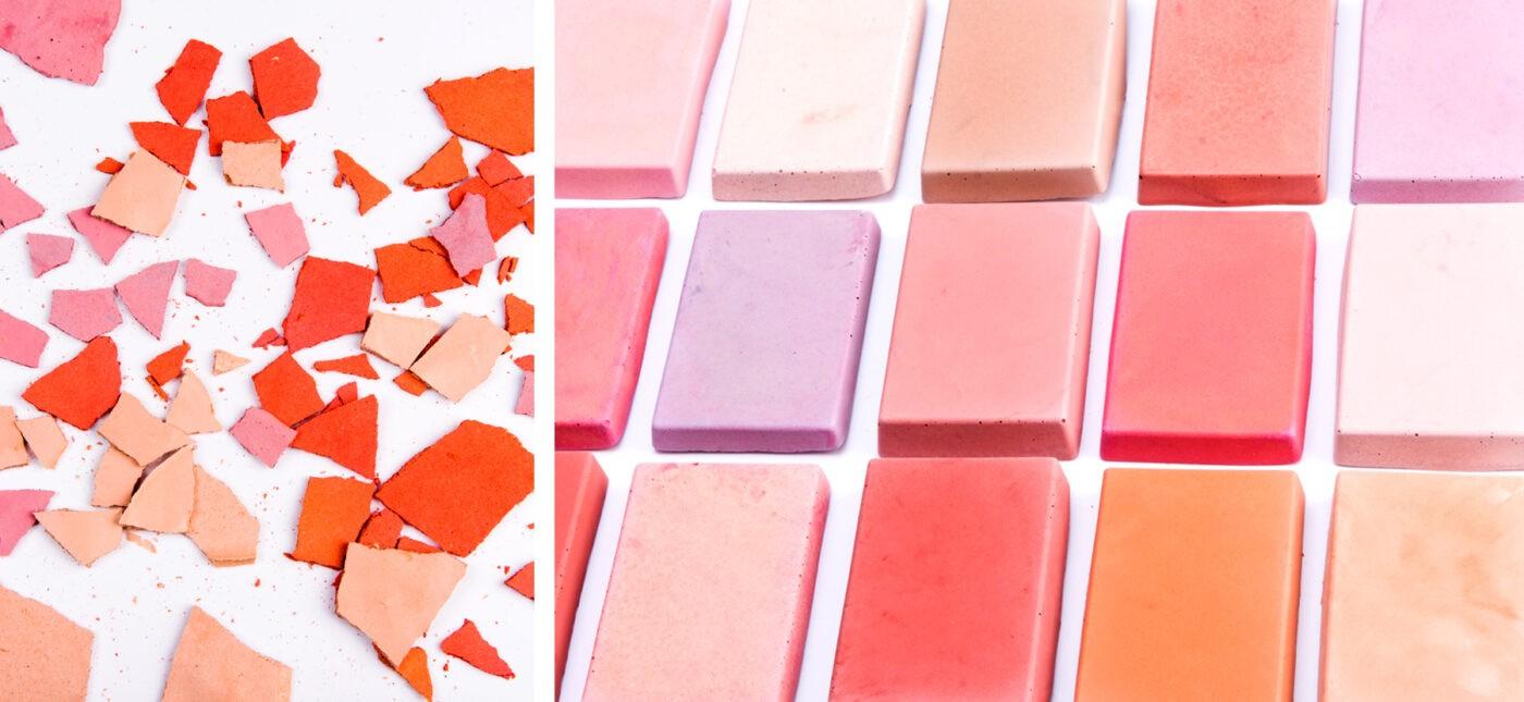 concrete colour experiments pink