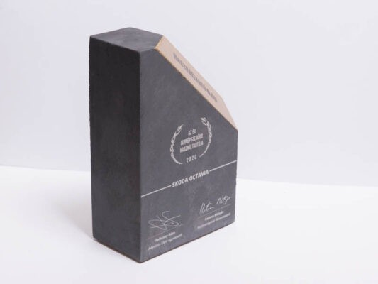 trophy for the best seller