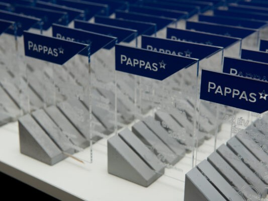 trophy making for pappas