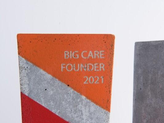 design trophy made of concrete